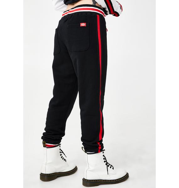 Dickies Girl Embroidered Logo Slim Joggers