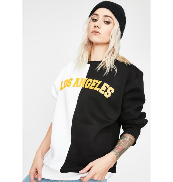 Daisy Street Los Angeles Oversized Sweatshirt