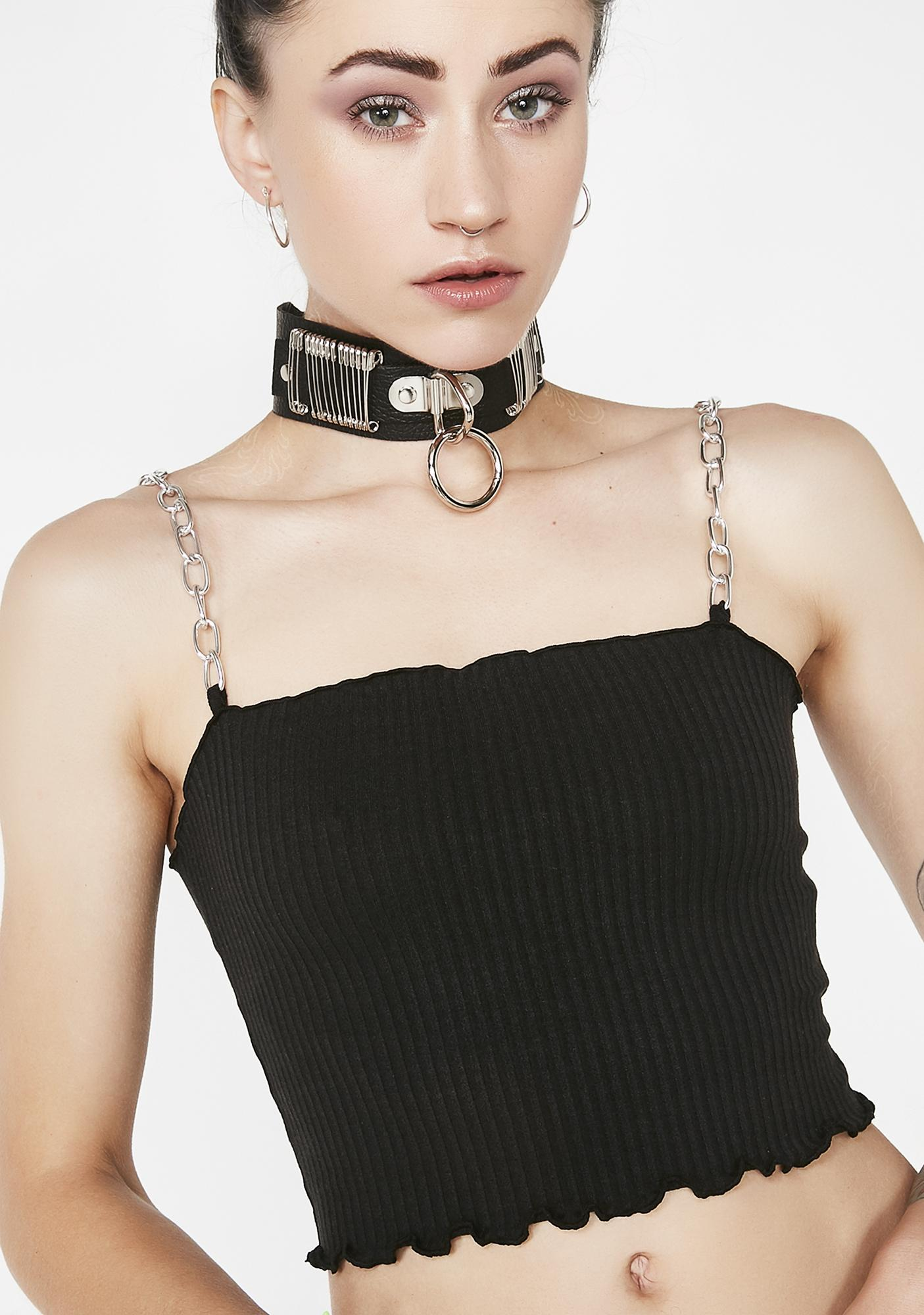 Current Mood Fantazia Factory Chain Top