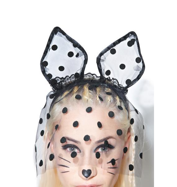 Veiled Bedroom Cat Ears