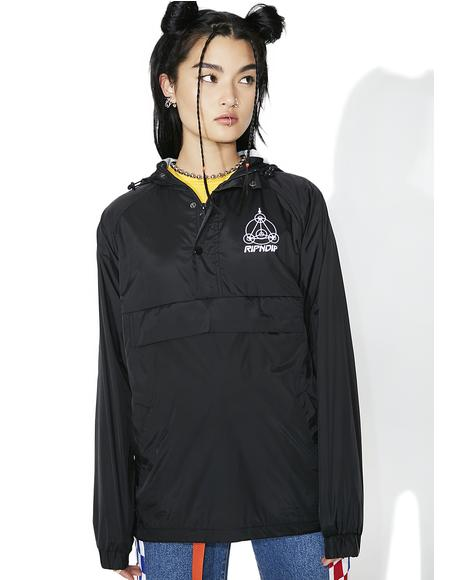 Crop Circles Reflective Jacket