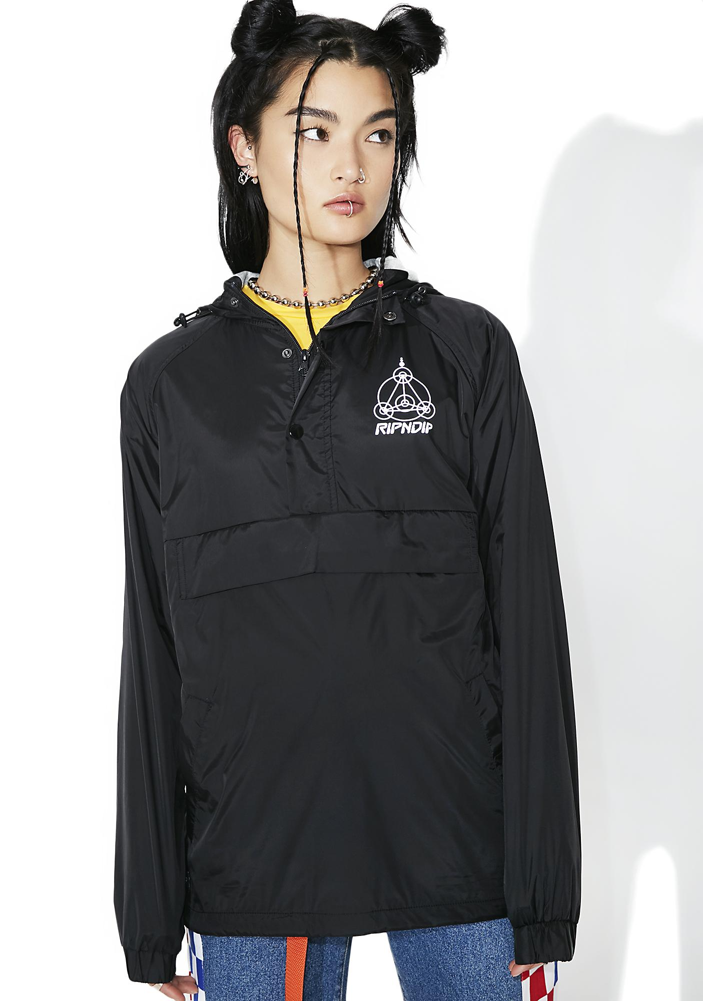 RIPNDIP Crop Circles Reflective Jacket