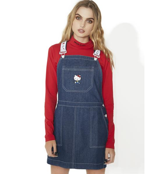 Lazy Oaf Hello Kitty Pinny Dress