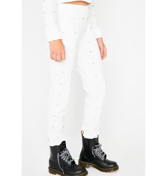 Dainty Details Studded Joggers