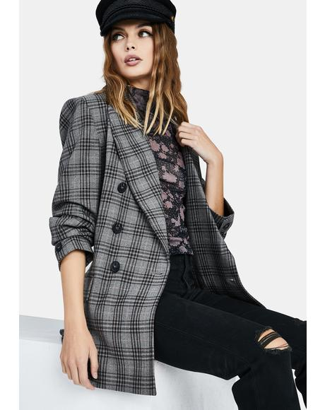 Ashby Plaid Blazer