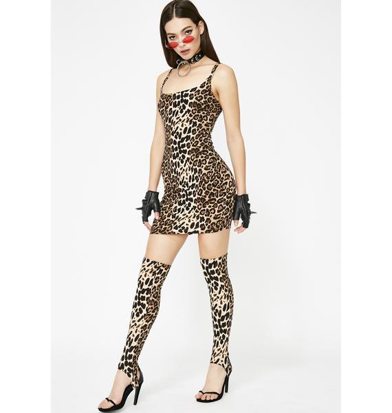 Cheetahlicious Mini Dress Set