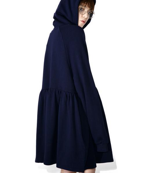 Lazy Oaf Mondays Hoodie Dress