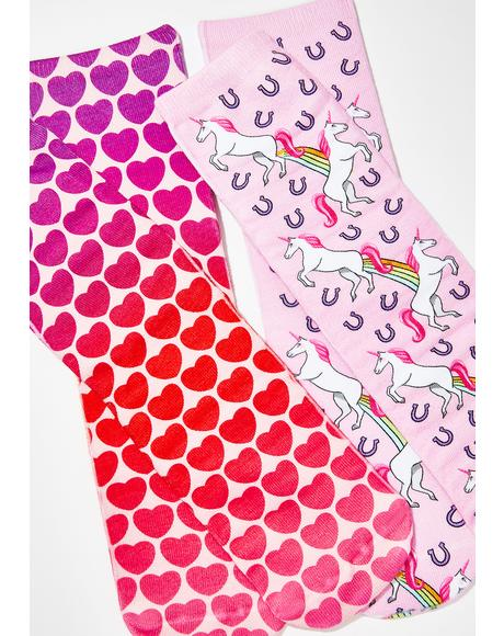 Princess Power Sock Set