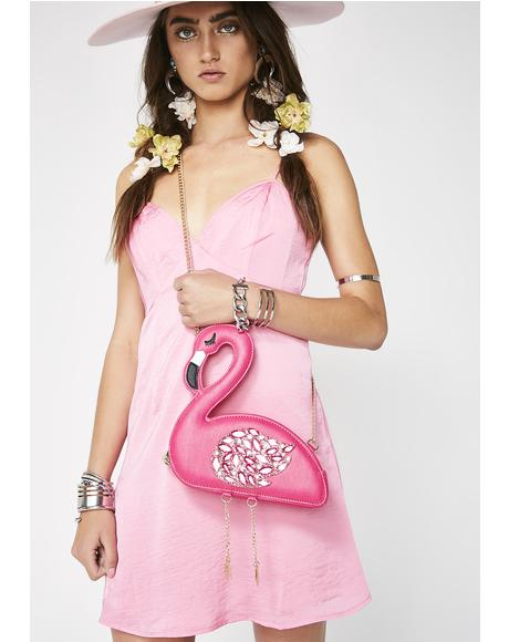 Flamingoals Crossbody Bag
