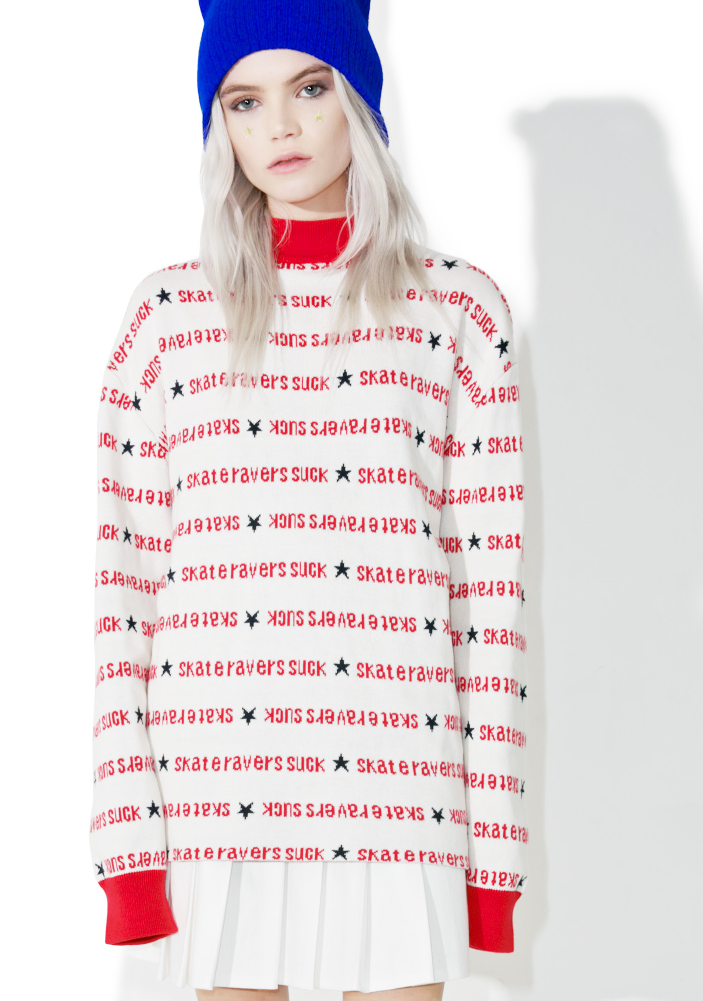 MadeMe x X-Girl Turtle Neck Sweater