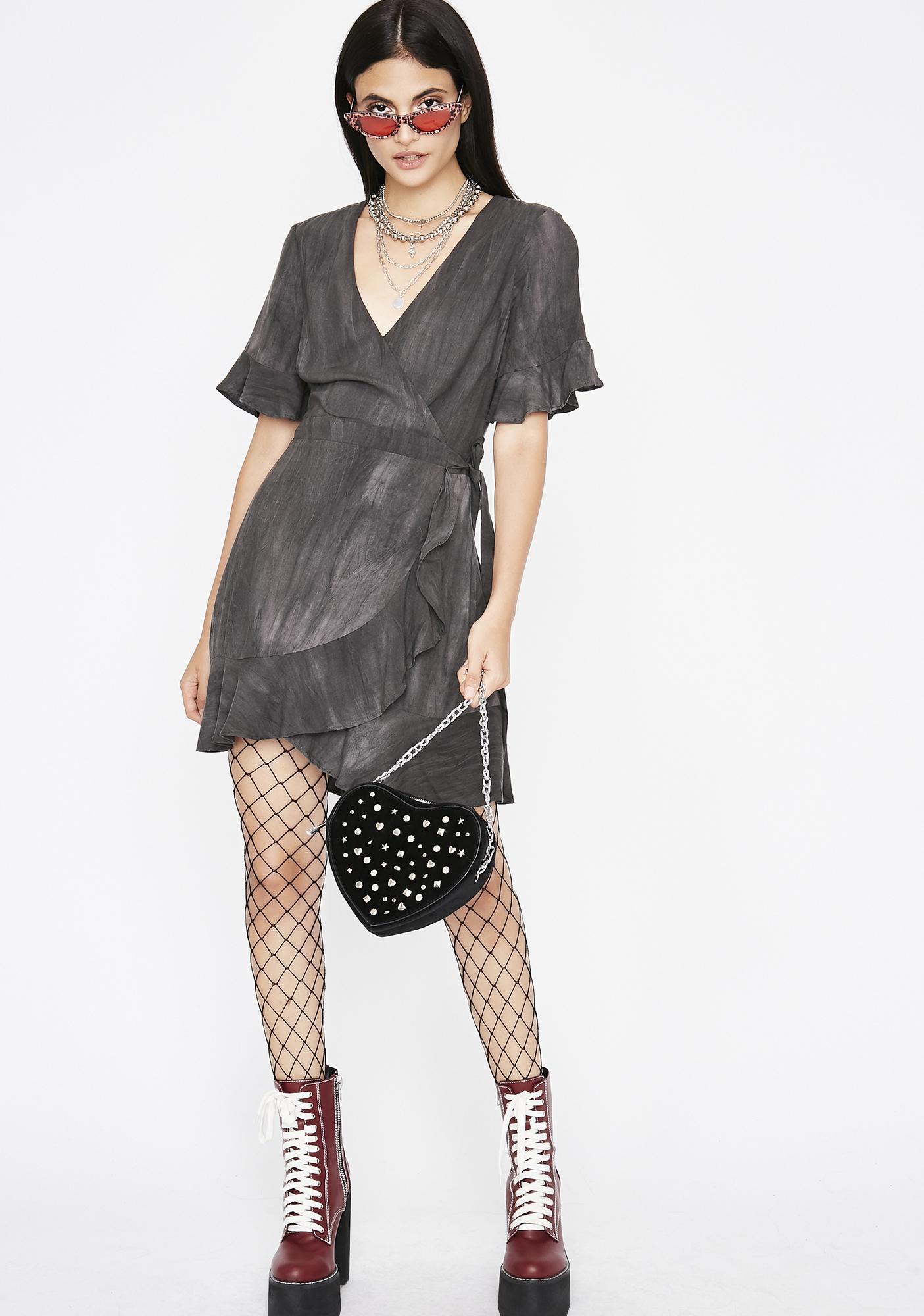What A Sight Wrap Dress