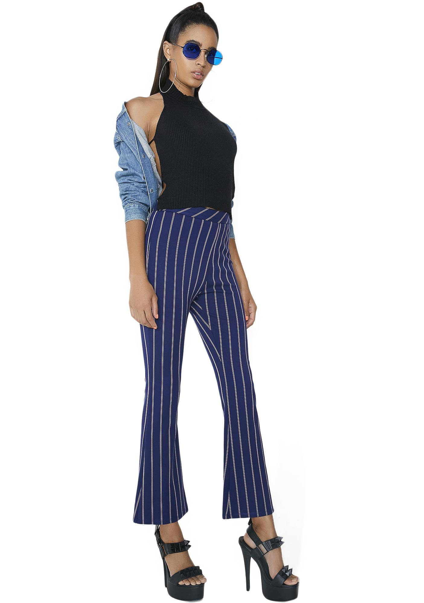 First Day Pinstripe Pants