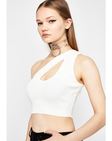Pure Fierce Elite Cutout Top