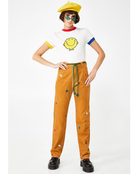 Mr Men Corduroy Pants