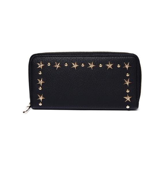 On The Rise Studded Wallet
