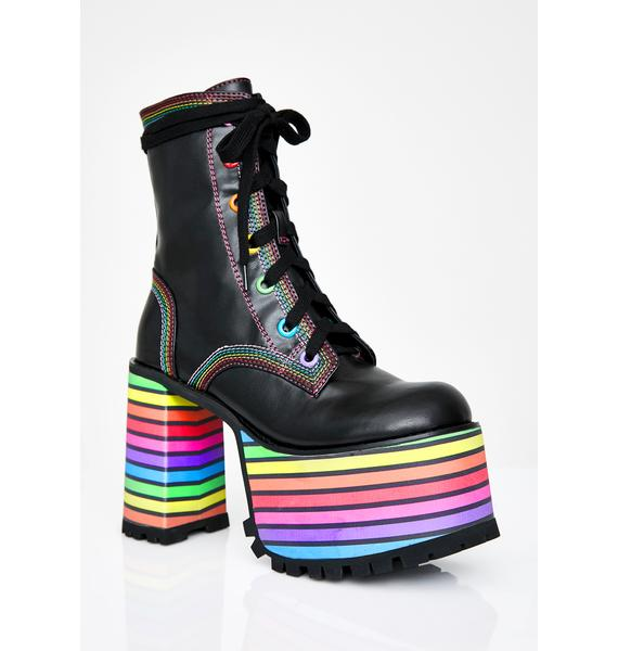 Club Exx Sissy That Walk Platform Boots