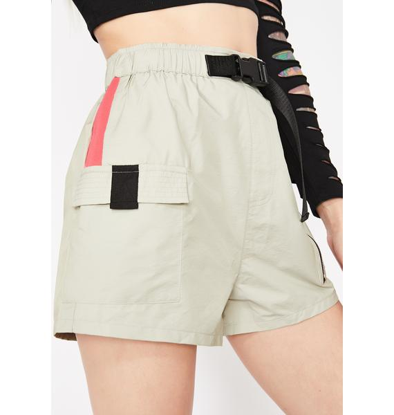 Kush Fly Gurl Buckle Shorts