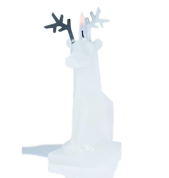 PyroPet Sparks Reindeer Candle Set