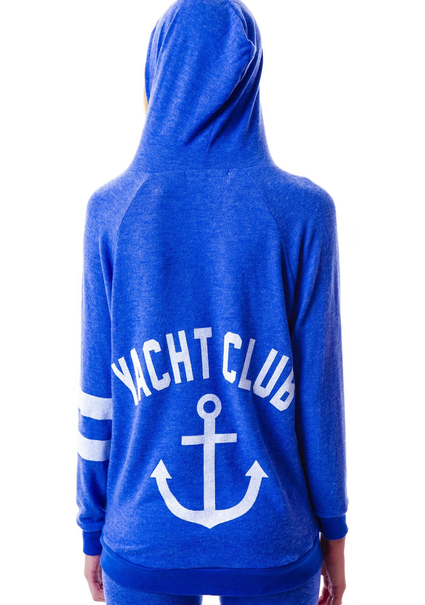 Yacht Club Zip Up Hoodie