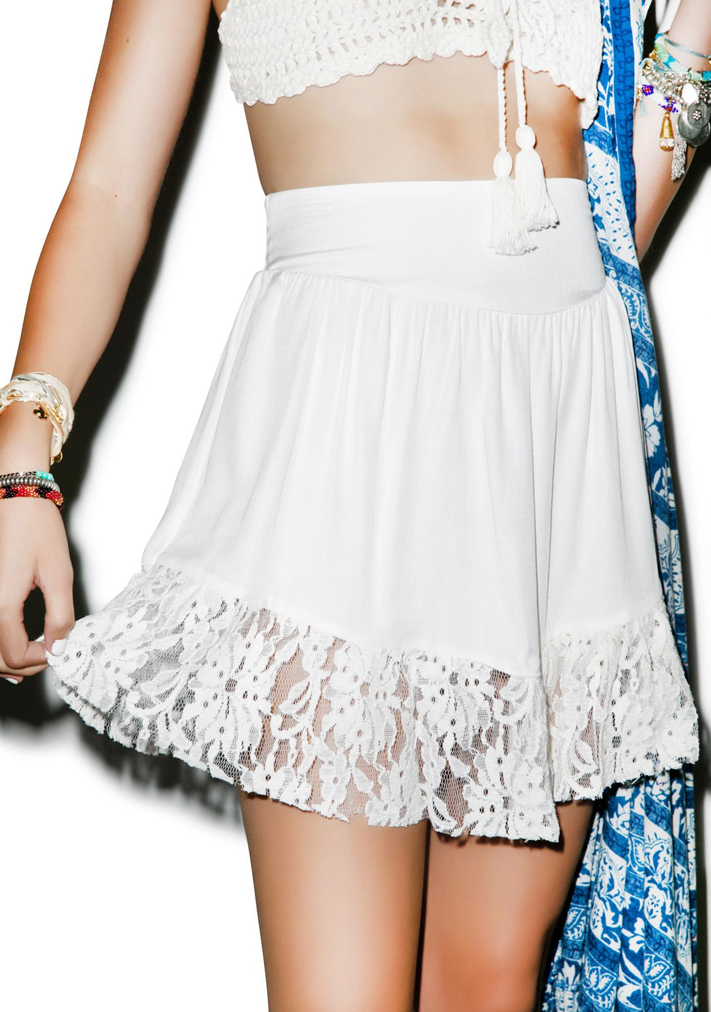 Somedays Lovin Be Pleasant Lace Skirt