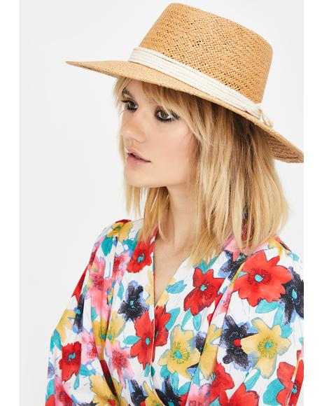 Daze Out Straw Hat