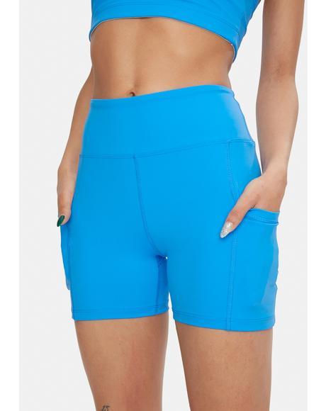 Aqua Sporty Shorts