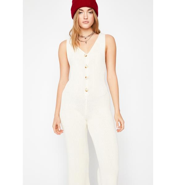 Lazy Bae Sweater Jumpsuit