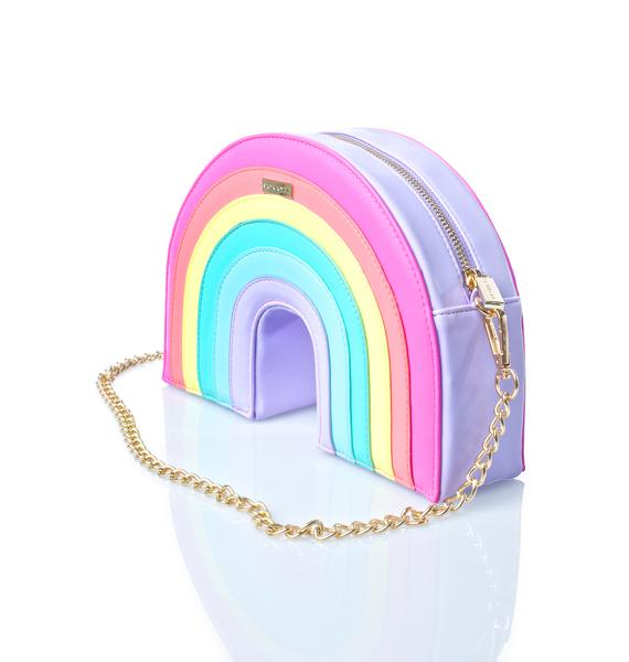 Skinnydip Rainbow Cross Body Bag