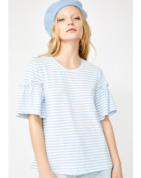 Soft Spot Striped Tee