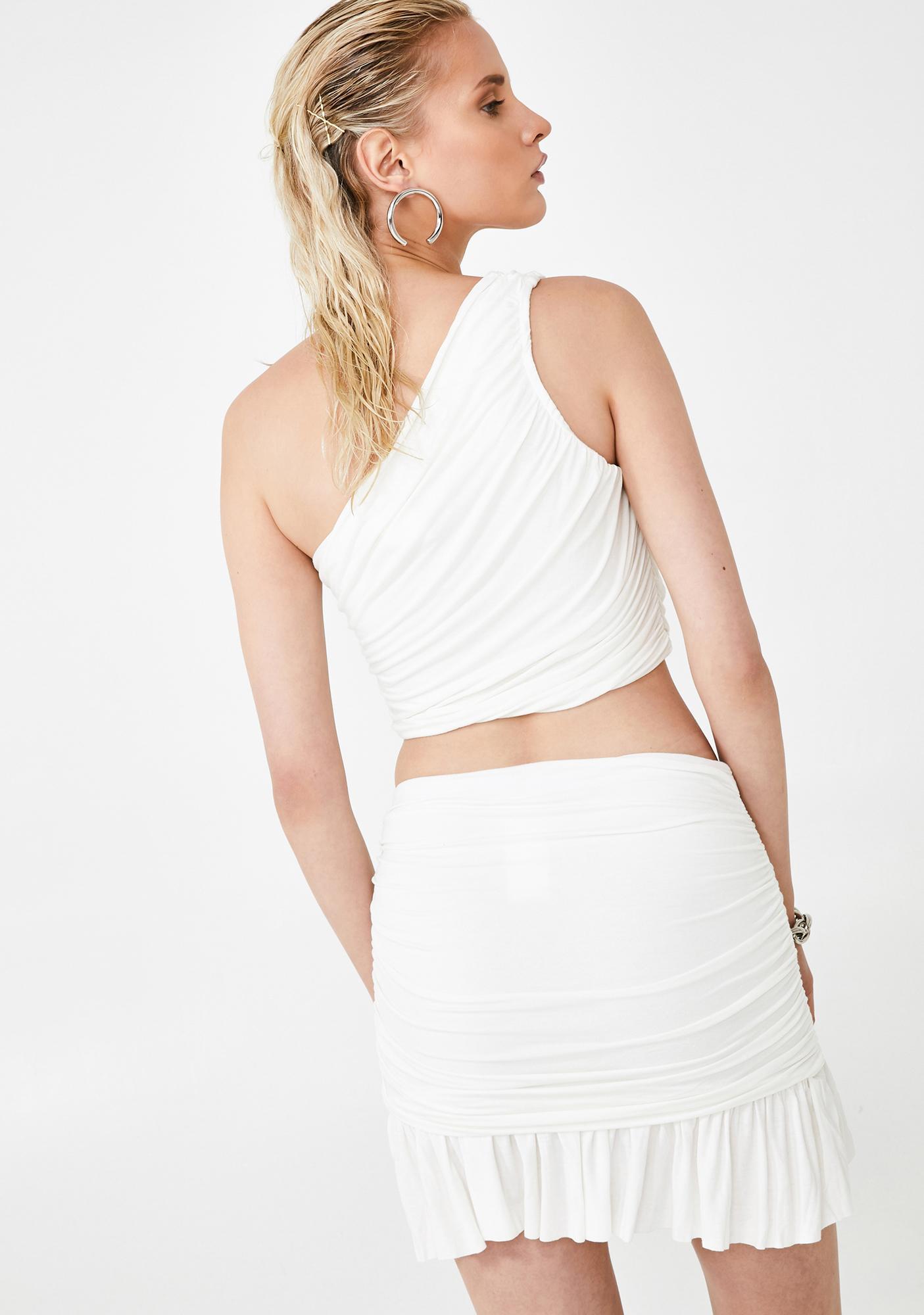 Kiki Riki Angelic Y2K Queen Skirt Set