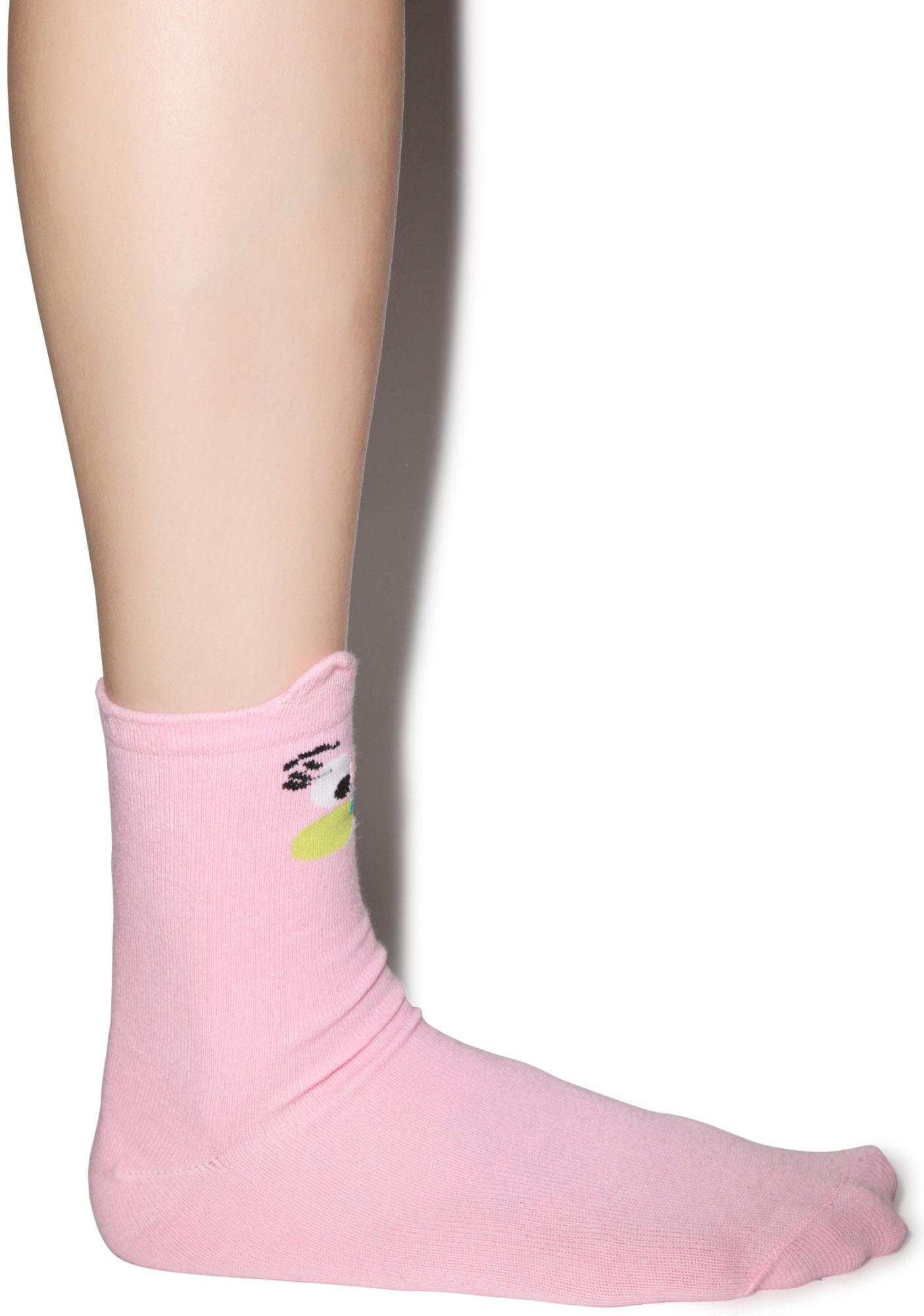Lazy Oaf Rabbit Socks