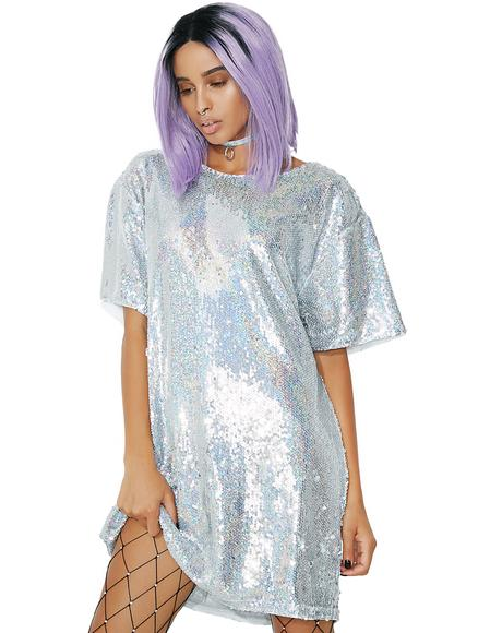 Sparkle Time Sequin Dress