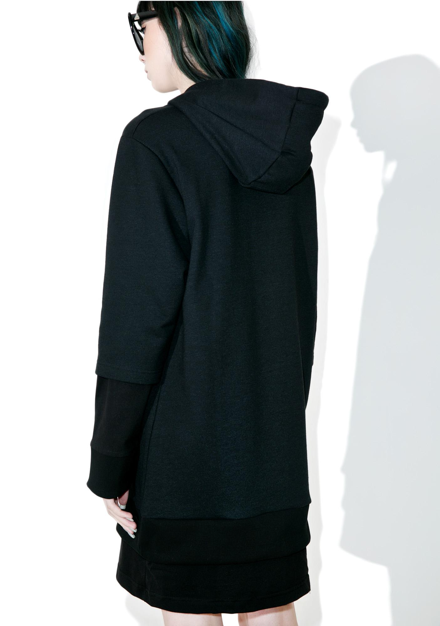 Disturbia Anti-Socialite Hoodie Dress