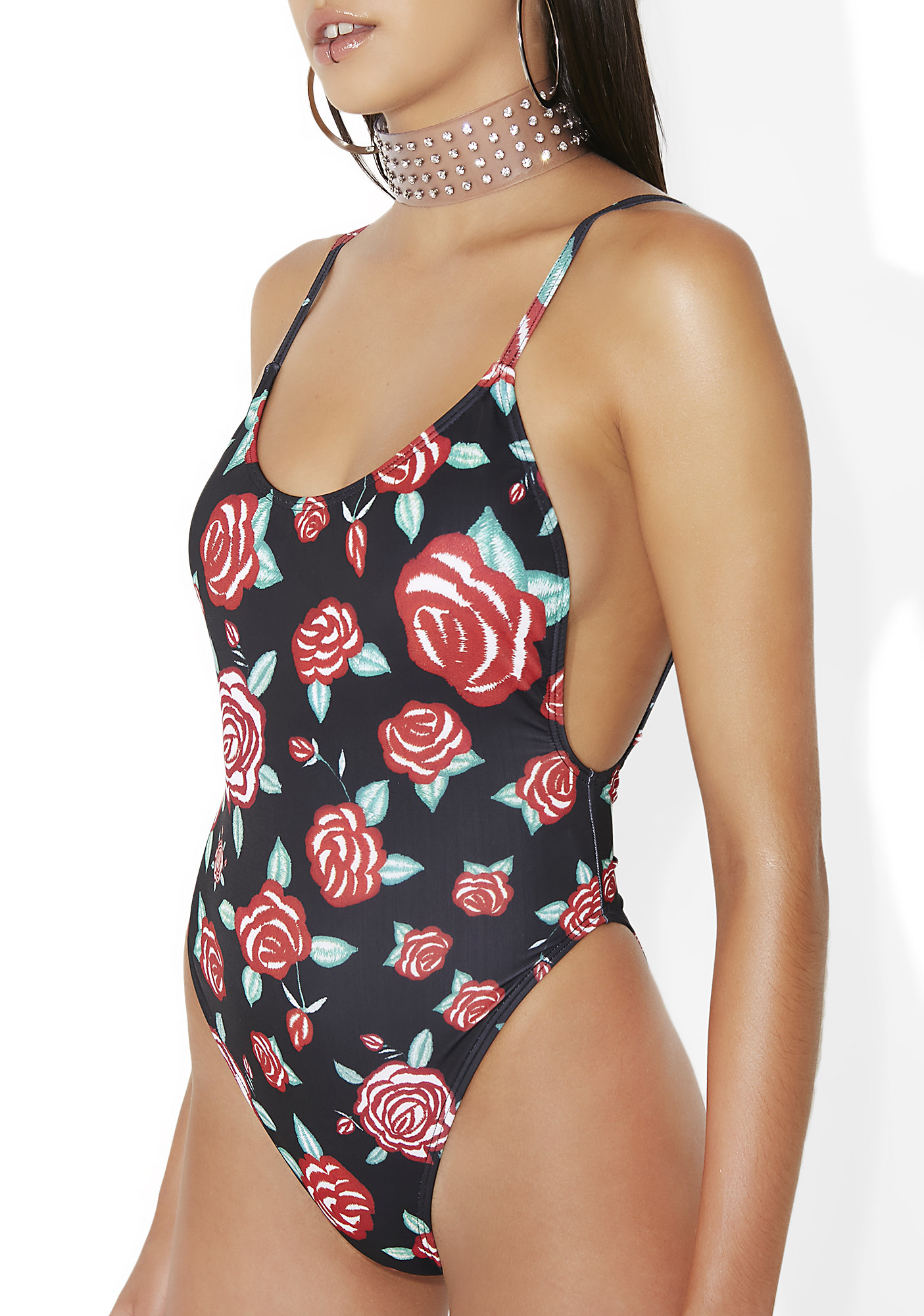 Jaded London Floral One Piece