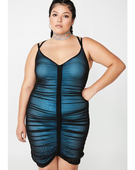 Bae Swipe Right Mesh Dress