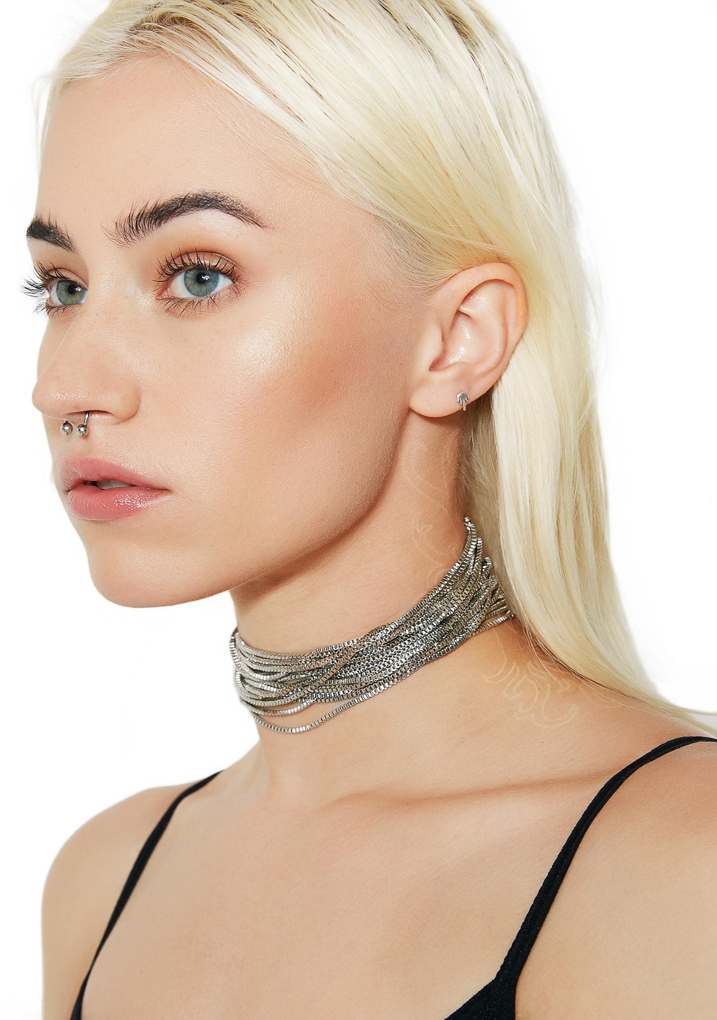 Wrap It Up Layered Choker