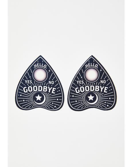 Ouija Planchette Pasties