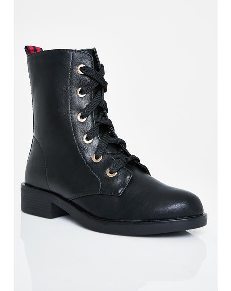 Battle On Combat Boots