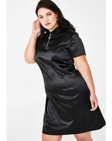 Miss Class Act Satin Dress