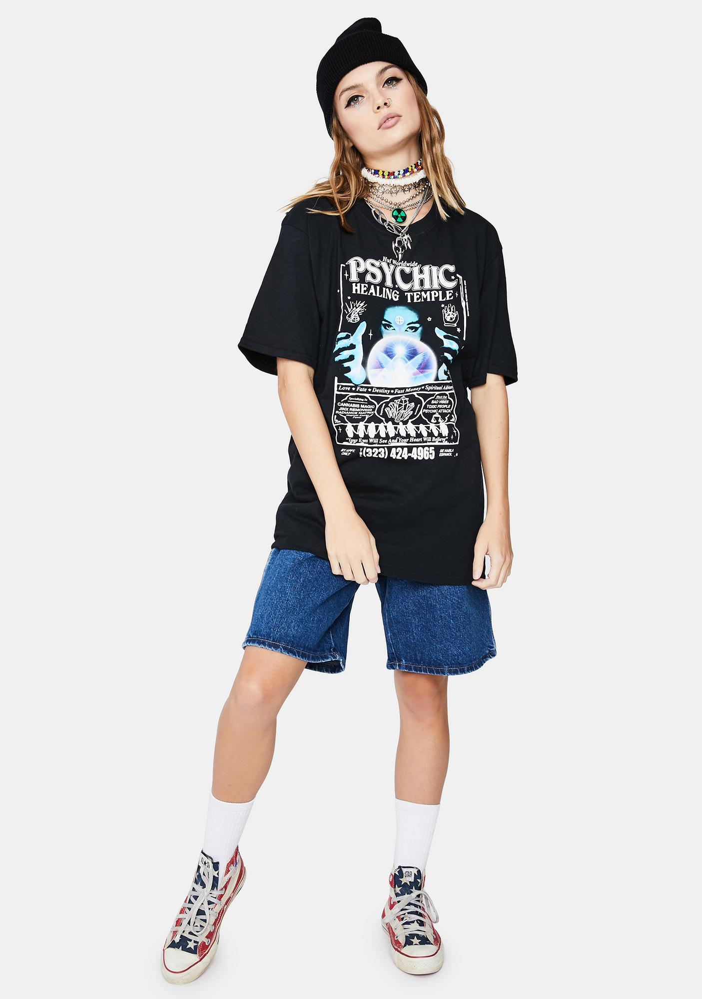 HUF Psychic Temple Short Sleeve Graphic Tee