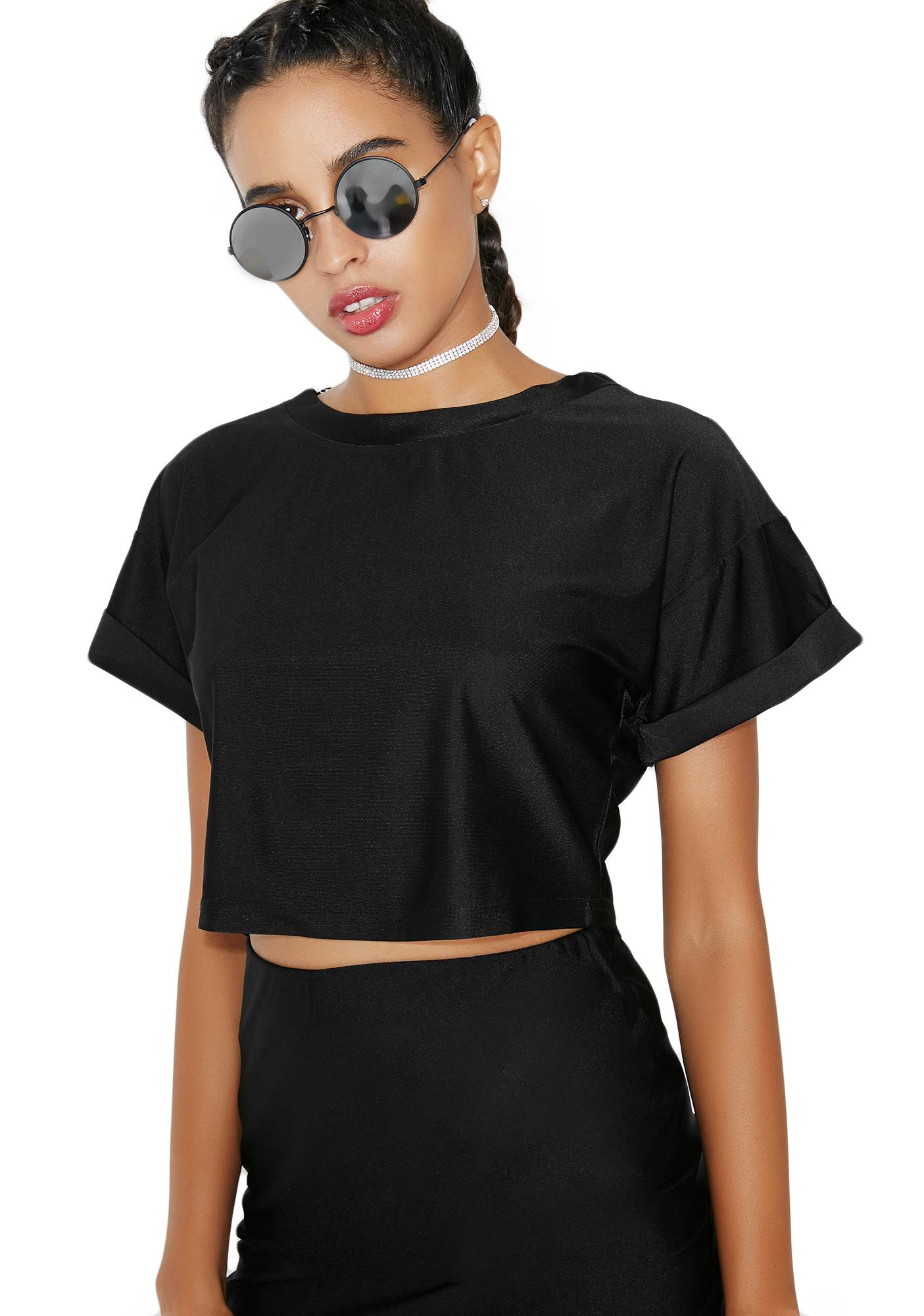 As I Am Mystic Night Crop Tee