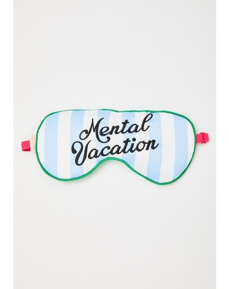 Mental Vacation Eye Mask