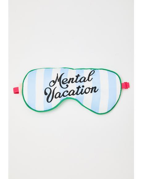 Mental Vacation Eye Mask