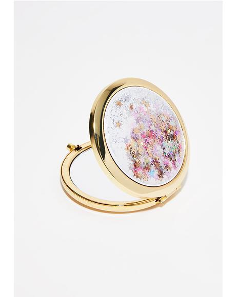 Golden Dreamer Glitter Mirror