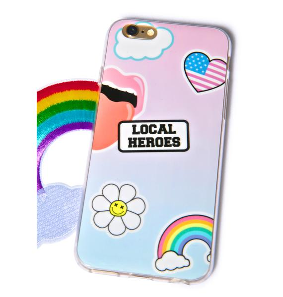 Local Heroes Stickers iPhone 6 Case