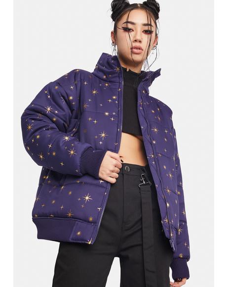 Constellations Puffer Jacket