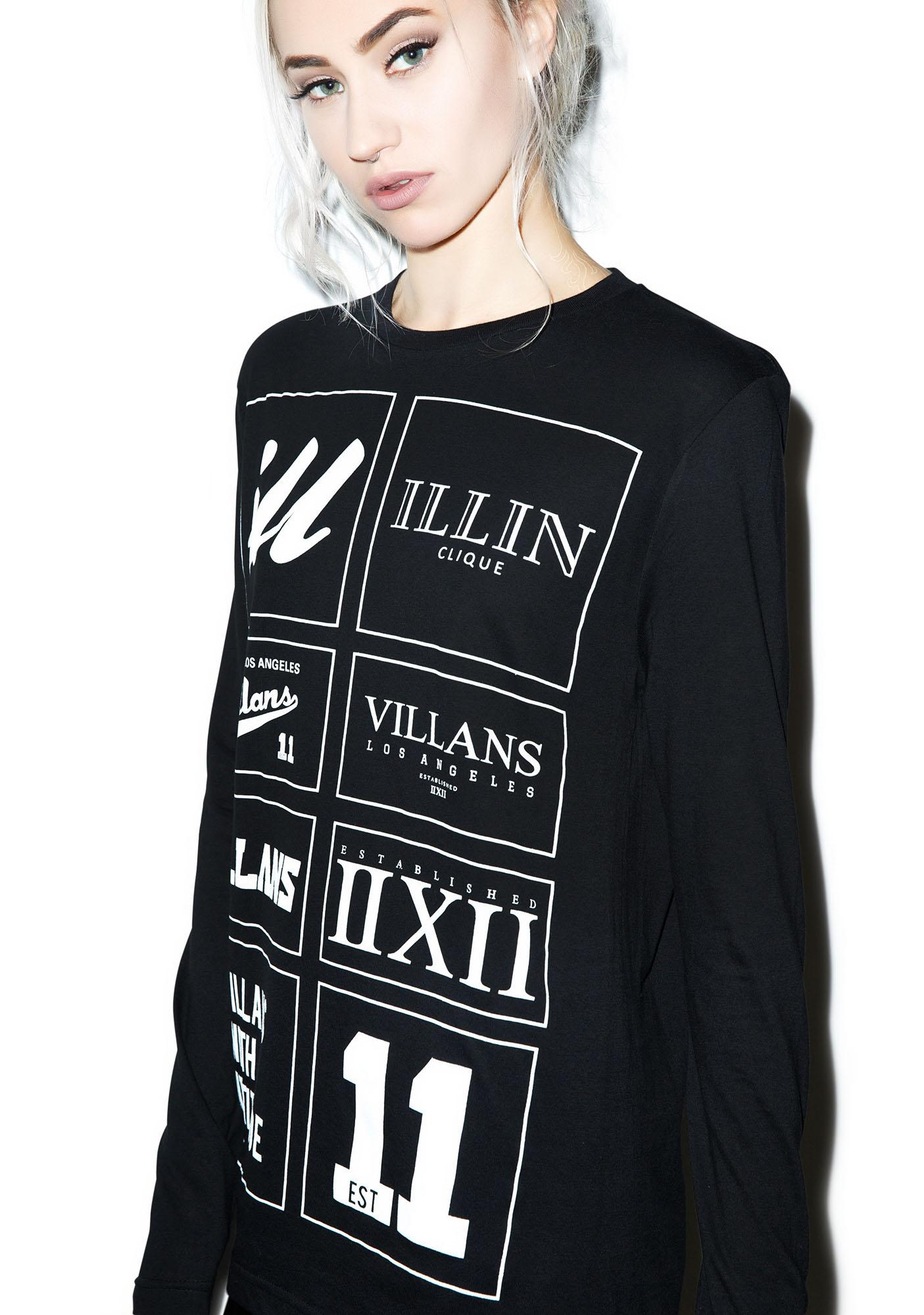 Villans Sample Long Sleeve Tee