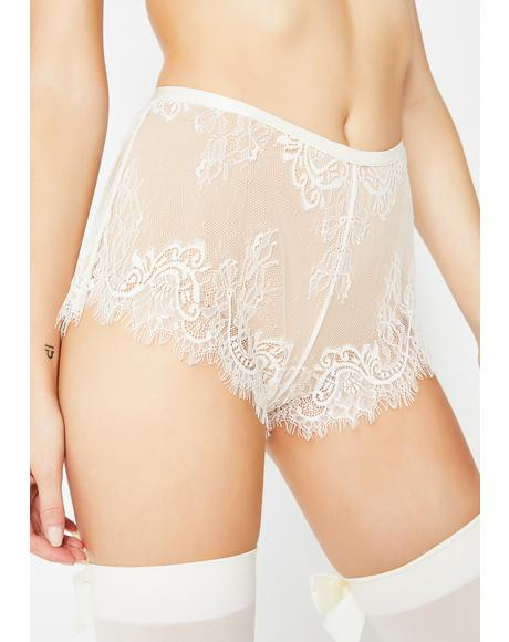 Frosted Sweet Fantasy Lace Shorts