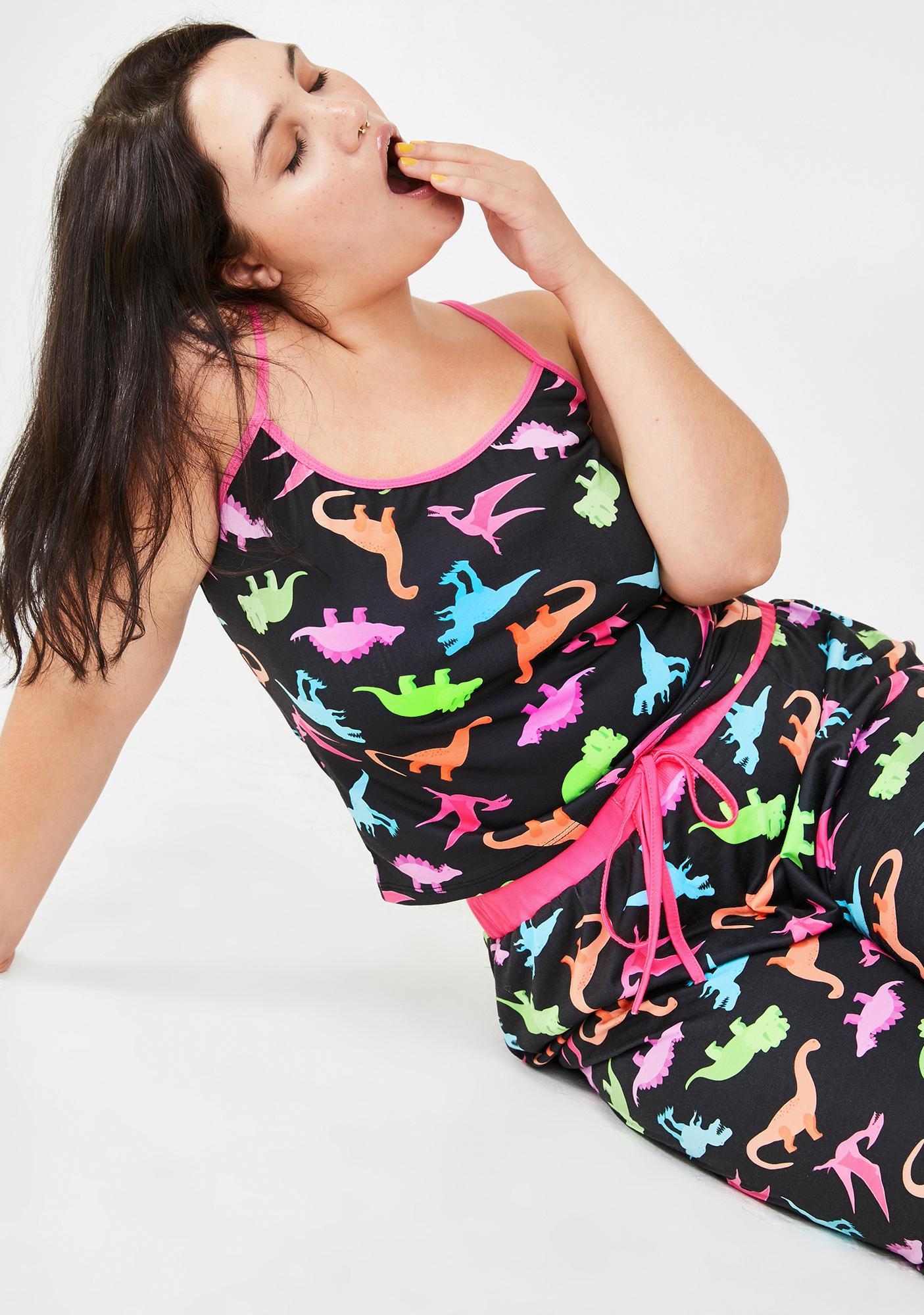 dELiA*s by Dolls Kill She's Dino-Mite Tank Top