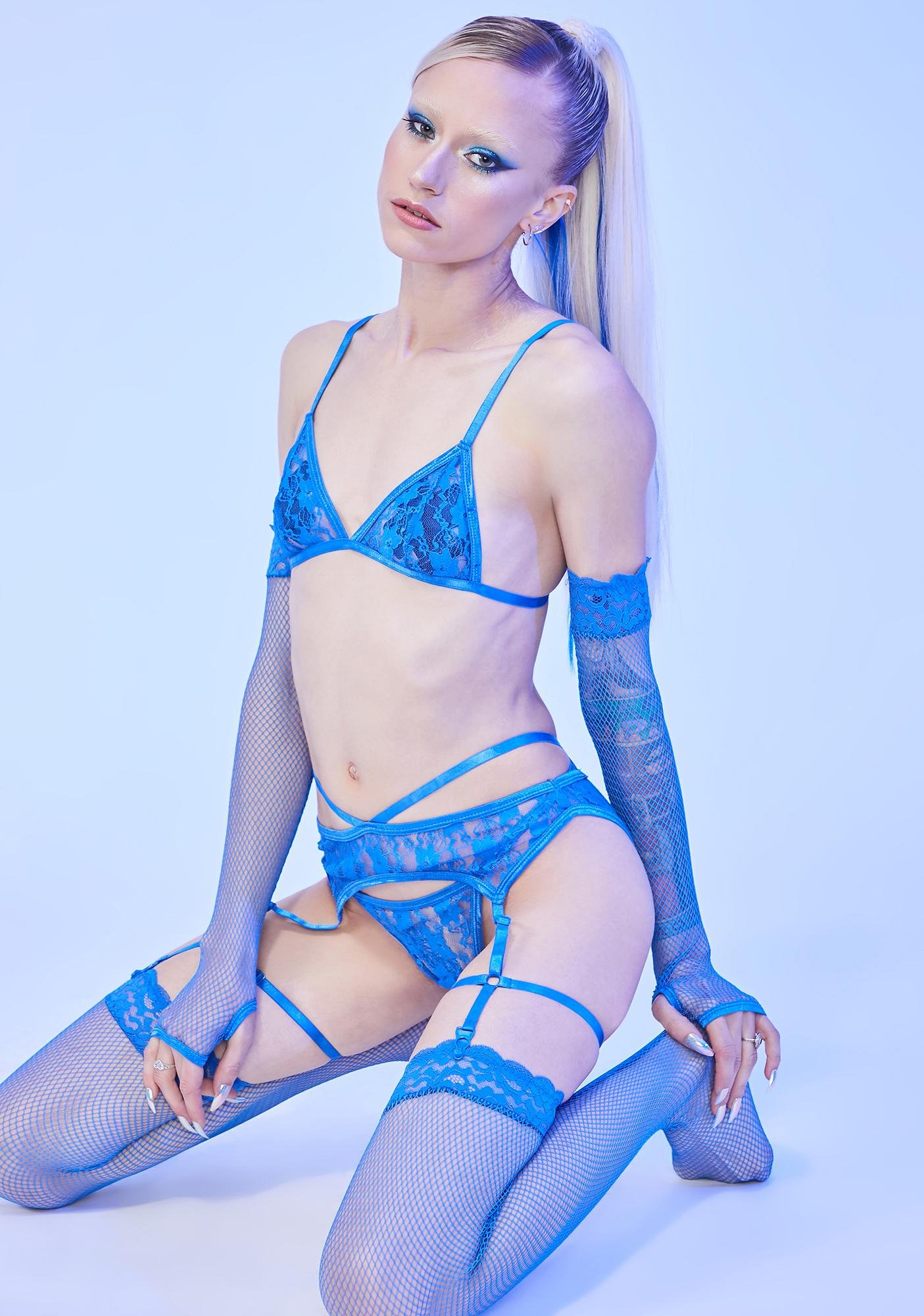 HOROSCOPEZ Getting Hot In Here Lace Set